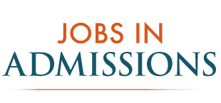 Jobs in Admissions